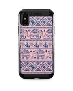 Tribal Elephant Pink iPhone XS Cargo Case