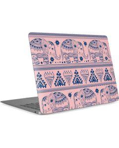 Tribal Elephant Pink Apple MacBook Air Skin