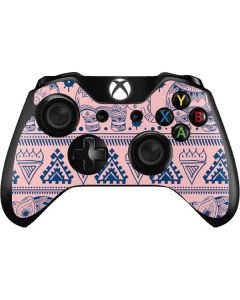 Tribal Elephant Pink Xbox One Controller Skin