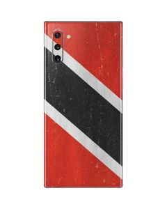 Trinidad and Tobagao Flag Distressed Galaxy Note 10 Skin