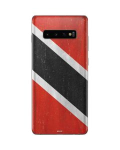 Trinidad and Tobagao Flag Distressed Galaxy S10 Plus Skin
