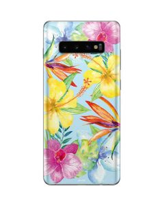 Tropical Daze Galaxy S10 Plus Skin