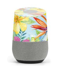 Tropical Daze Google Home Skin
