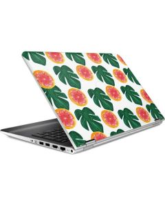 Tropical Leaves and Citrus HP Pavilion Skin