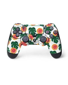Tropical Leaves and Citrus PS4 Pro/Slim Controller Skin