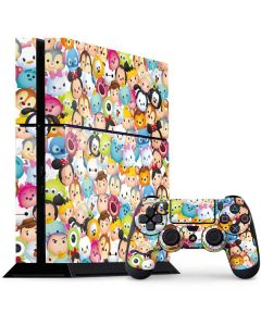 Tsum Tsum Animated PS4 Console and Controller Bundle Skin