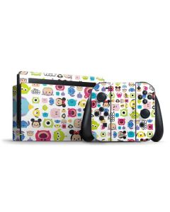 Tsum Tsum Disney Characters Nintendo Switch Bundle Skin