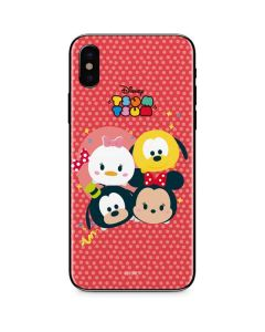 Tsum Tsum Disney Friends iPhone X Skin