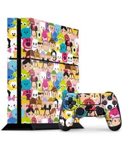 Tsum Tsum Up Close PS4 Console and Controller Bundle Skin