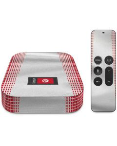 Tunisia Soccer Flag Apple TV Skin