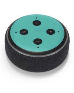 Turquoise Amazon Echo Dot Skin