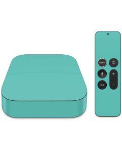 Turquoise Apple TV Skin
