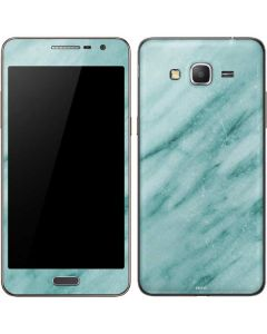 Turquoise Marble Galaxy Grand Prime Skin