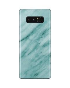 Turquoise Marble Galaxy Note 8 Skin
