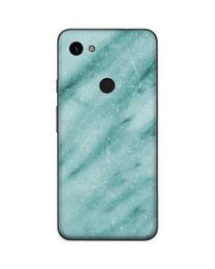 Turquoise Marble Google Pixel 3a Skin