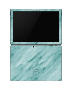 Turquoise Marble Surface Pro 6 Skin