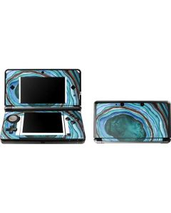 Turquoise Watercolor Geode 3DS (2011) Skin