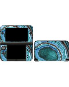 Turquoise Watercolor Geode 3DS XL 2015 Skin