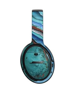 Turquoise Watercolor Geode Bose QuietComfort 35 Headphones Skin