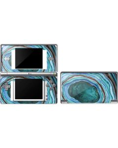 Turquoise Watercolor Geode DS Lite Skin