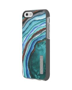 Turquoise Watercolor Geode Incipio DualPro Shine iPhone 6 Skin