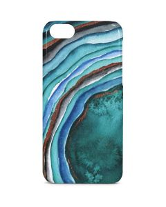 Turquoise Watercolor Geode iPhone 5c Lite Case
