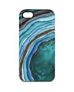 Turquoise Watercolor Geode iPhone 5c Pro Case