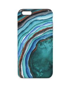 Turquoise Watercolor Geode iPhone 6/6s Plus Pro Case