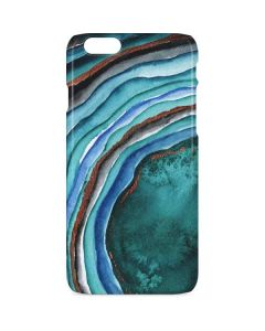 Turquoise Watercolor Geode iPhone 6s Lite Case