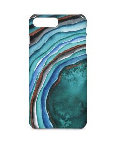 Turquoise Watercolor Geode iPhone 7 Plus Lite Case