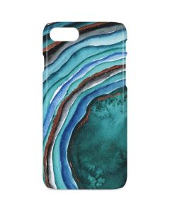 Turquoise Watercolor Geode iPhone 8 Lite Case