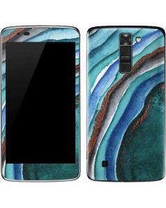 Turquoise Watercolor Geode K7/Tribute 5 Skin