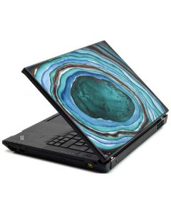 Turquoise Watercolor Geode Lenovo T420 Skin