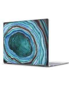 Turquoise Watercolor Geode Pixelbook Skin