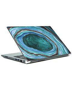 Turquoise Watercolor Geode Portege Z30t/Z30t-A Skin