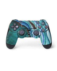 Turquoise Watercolor Geode PS4 Pro/Slim Controller Skin