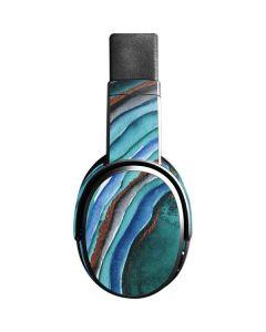 Turquoise Watercolor Geode Skullcandy Crusher Wireless Skin