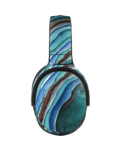 Turquoise Watercolor Geode Skullcandy Venue Skin