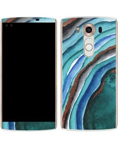 Turquoise Watercolor Geode V10 Skin
