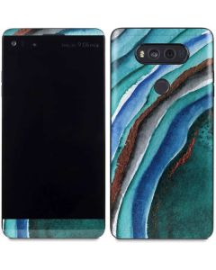 Turquoise Watercolor Geode V20 Skin