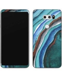 Turquoise Watercolor Geode V30 Skin