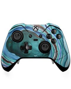 Turquoise Watercolor Geode Xbox One Elite Controller Skin