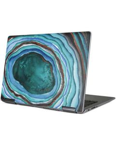 Turquoise Watercolor Geode Yoga 710 14in Skin
