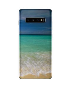 Turquoise Waters Galaxy S10 Plus Skin