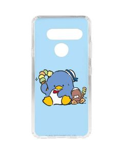 Tuxedosam and Friend with Ice Cream LG V40 ThinQ Clear Case