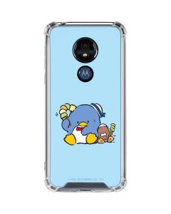 Tuxedosam and Friend with Ice Cream Moto G7 Power Clear Case