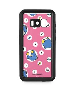 Tuxedosam Letters Galaxy S8 Plus Waterproof Case