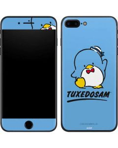 Tuxedosam Waves Hello iPhone 8 Plus Skin