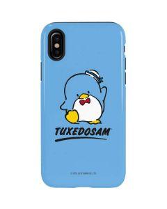 Tuxedosam Waves Hello iPhone X Pro Case