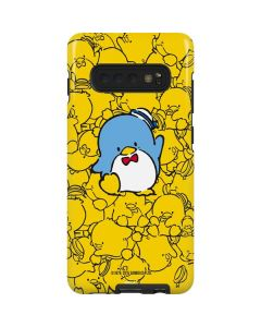 Tuxedosam Yellow Cluster Galaxy S10 Plus Pro Case